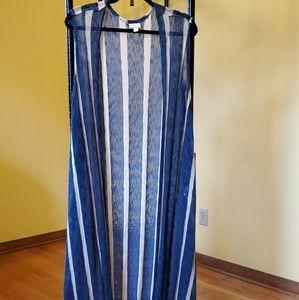 Lularoe Joy Long Vest